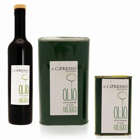 Organic Extra Virgin Olive Oil Il Cipresso